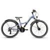 s'cool XXlite 24 21-S - Vélo enfant - alloy gris